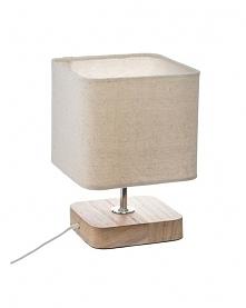 Lampa Stołowa z Kwadratowym...