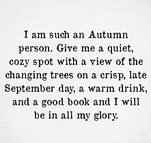 Autumn person?