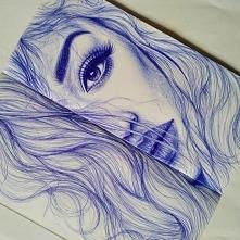 Długopis i trochę czasu :) IG: justyna_maje
