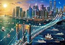 Krajobraz USA. Nowy Jork. B...