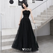 Uroczy Czarne Sukienki Wiec...