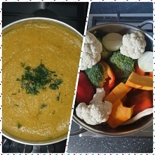 Zupa krem - dynia z warzywami