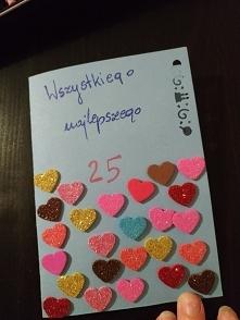 Kartka urodzinowa DIY :)