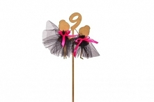 Topper baletnica - urodziny :)