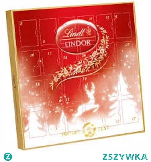 Lindt Lindor Kalendarz Adwentowy