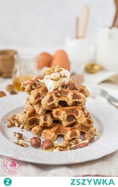 Gofry marchewkowe z orzechami - Najlepsze przepisy | Blog kulinarny - Wypieki Beaty
