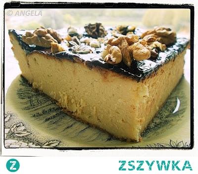 Wysoki puszysty sernik - Tall Creamy Cheesecake Recipe - Cheesecake alto e soffice