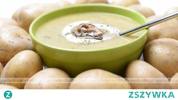 Jesienna zupa ziemniaczana
