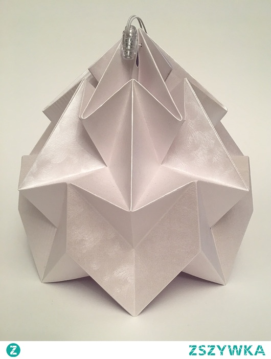 Abażur klosz Origami Klasyka origamilamp Riccio