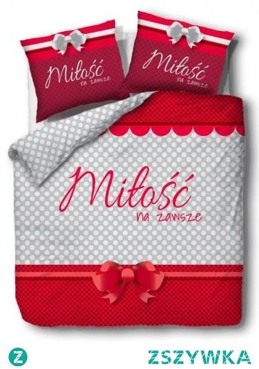 Pościel popielata 160x200 z napisem miłość na zawsze jest idealnym pomysłem na prezent dla bliskiej osoby. Produkt jest wykonany z materiału wysokiej jakości. Pościel zapewnia komfort w trakcie snu.