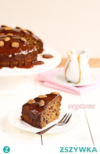 ciasto daktylowe polewą toffi