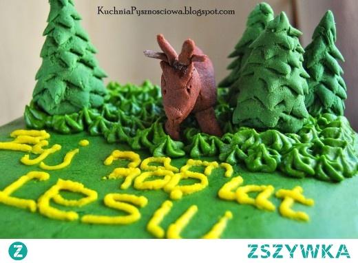 Urodzinowy tort dla leśnika