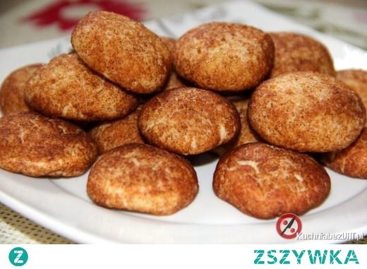 Domowe ciasteczka z cynamonową posypką