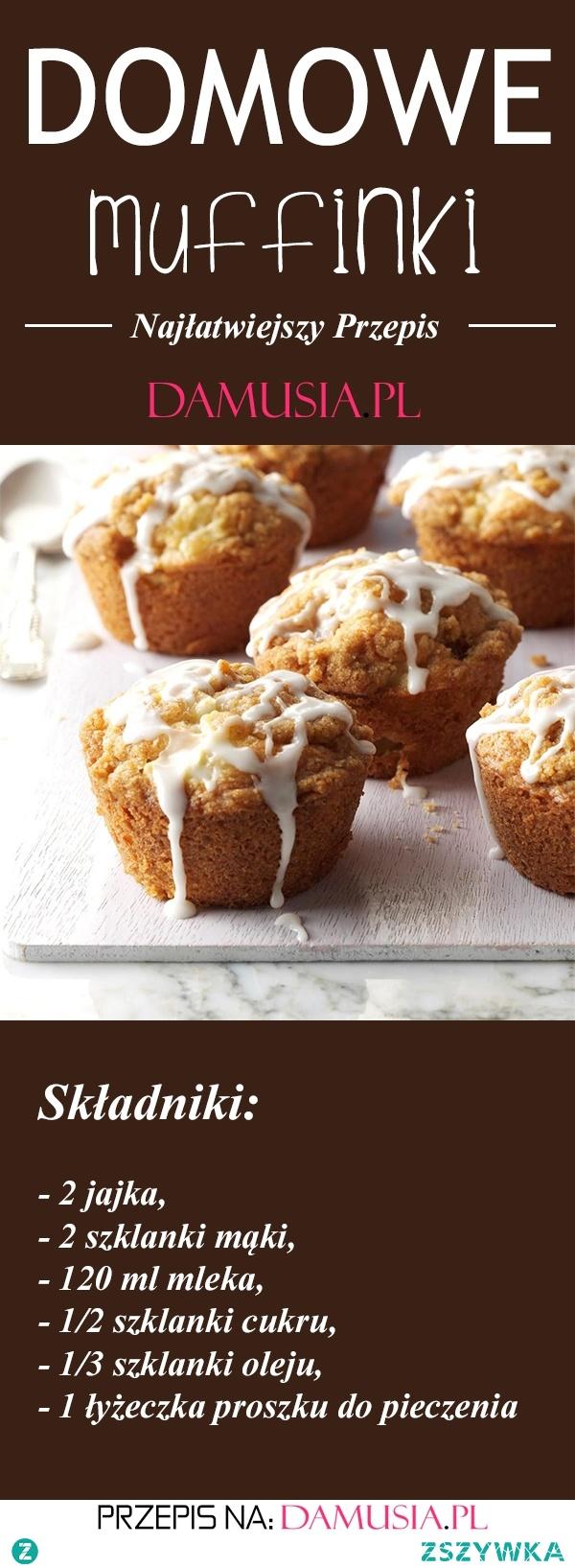 Najlepszy Przepis na Domowe Muffinki