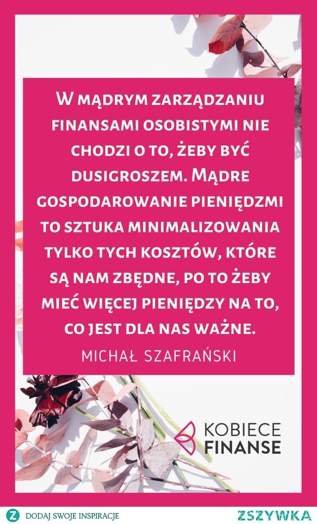 """Recenzja książki Michała Szafrańskiego pt. """"Finansowy ninja""""."""
