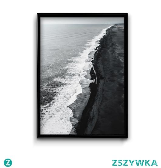 Islandia-brzeg- plakat