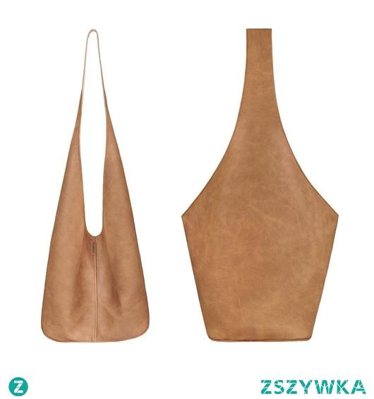 Short Boogi Bag ruda lekko przecierana