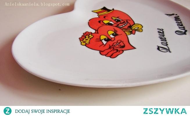 pomysł na przemalowanie talerza