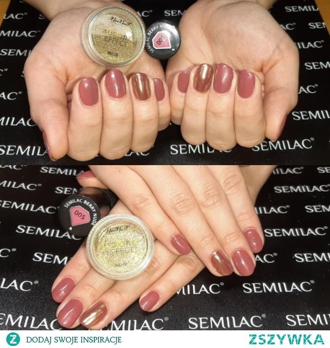 Semilac 005, Neonail Aurora effect 04 <3