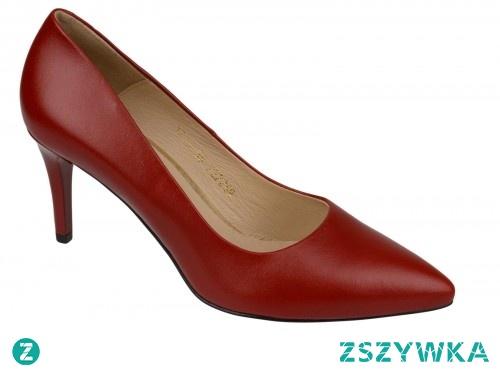 Czółenka czerwone CLASSICO 1773 mStiletto