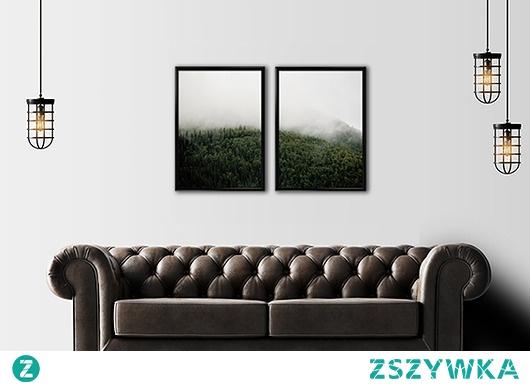 Dwa plakaty - panorama