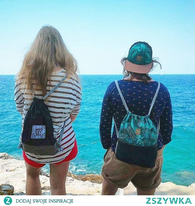 KUPON RABATOWY -10% DO WYKORZYSTANIA NA STRONIE SZWENDAMSIE. PL: ZSZYWKA Nasze worko-plecaki szwendają się po Chorwacji, a wkrótce odwiedzą też Włochy :) dzięki Kasia :) #dziewczyny #wpodróży