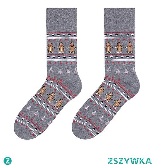 Skarpety świąteczne męskie - Ciasteczka