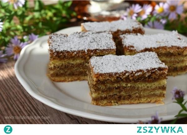 Placek orzechowy – kuchnia podkarpacka