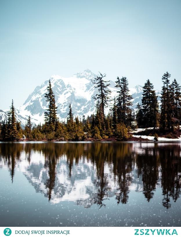 Góra w Waszyngtonie, Mount Shuksan :)