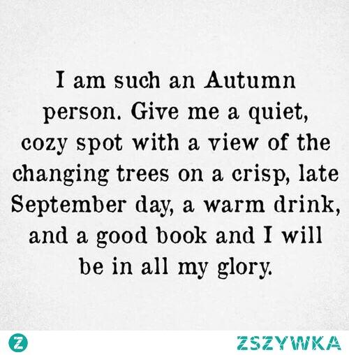 Autumn person?