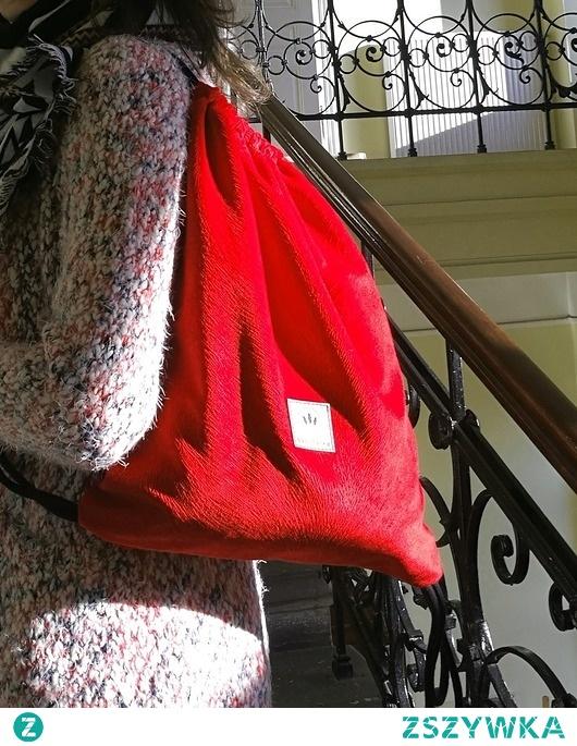 Plecak worek Red