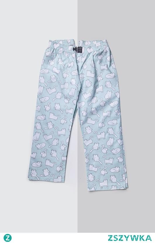 Spodnie do spania dla PARY koty