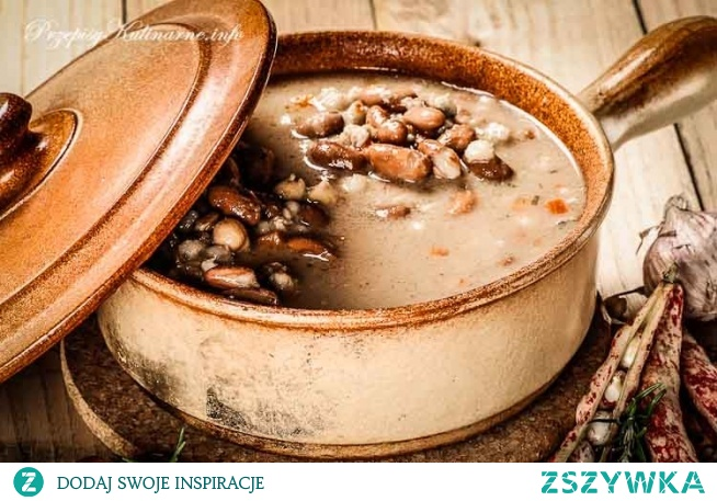 Zupa z fasoli Zuzy