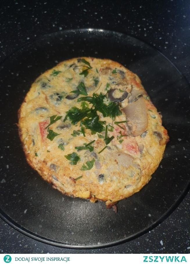 Omlet na śniadanie :)