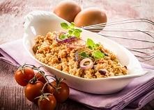 Jajeczna pasta z pomidorami
