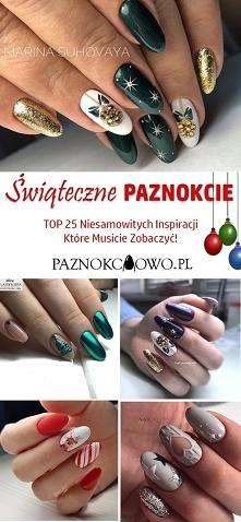 Świąteczne Paznokcie – TOP ...