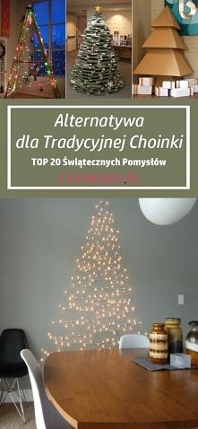 Alternatywa dla Tradycyjnej Choinki – TOP 20 Świątecznych Pomysłów