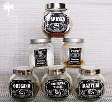 Pieprzniczka, solniczka i słoiczki na przyprawy Jack Daniels