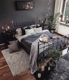 dark cozy bedroom