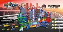 Olbrzymi zabawkowy garaż to marzenie każdego chłopca, ale i dziewczynki bawią...