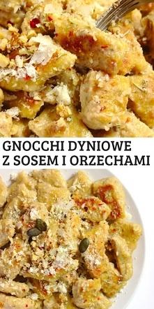 Domowe gnocchi dyniowe z so...