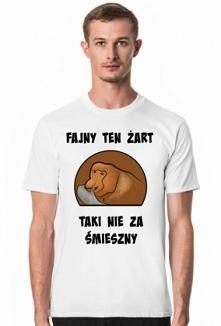 Dowcipkujący Janusz na koszulce. Taki nie za śmieszny. Koszulka do kupienia na prezentkoszulka.cupsell.pl