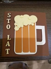 Kartka urodzinowa dla piwosza