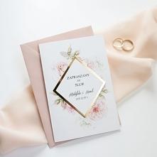 zaproszenia ślubne delikatn...