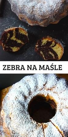 Ciasto zebra na maśle