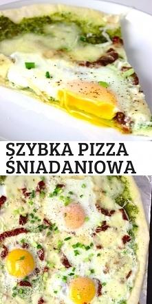Szybka pizza śniadaniowa z ...
