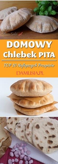 Domowy Chlebek Pita – TOP 10 Najlepszych Przepisów
