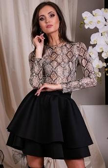 Roco Mini sukienka z podwój...