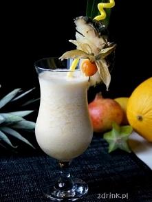 Orange Pina Colada