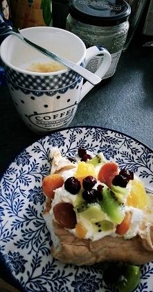 #food #deser #kawa #owoce #...